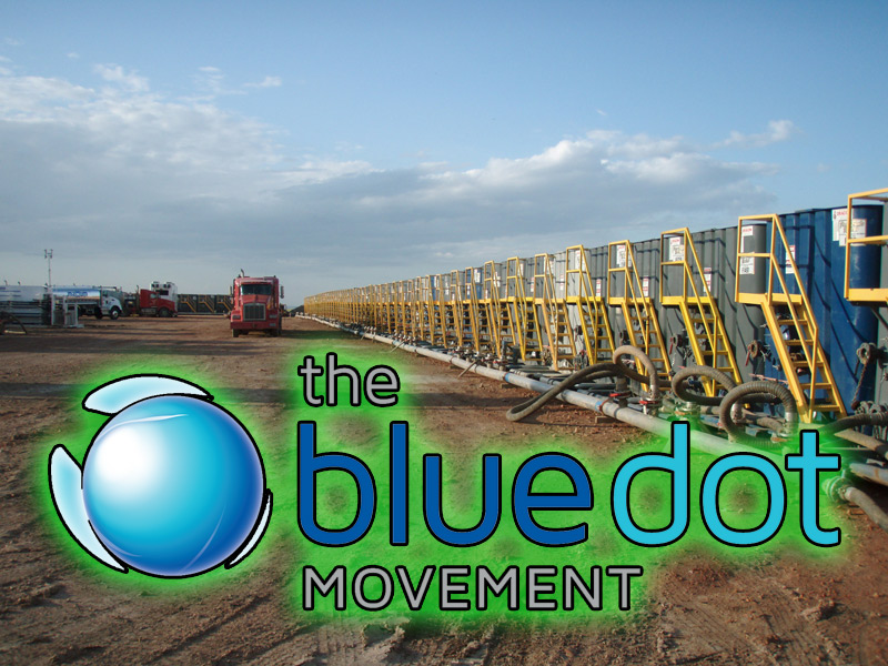 This Blue Dot movement is a nation-wide initiative of the David Suzuki Foundation. (Image courtesy of Wikipedia)
